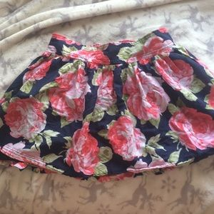 Abercrombie and Fitch Flower Skirt, Size Small